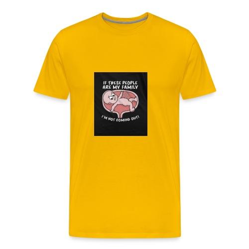 Funny baby - Men's Premium T-Shirt