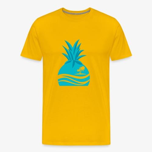 Island Pineapple - Men's Premium T-Shirt
