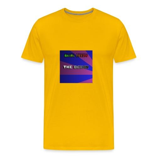 The Ocean Cover - Men's Premium T-Shirt