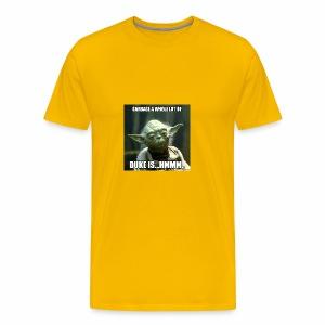Duke is Garbage - Men's Premium T-Shirt