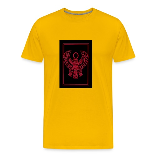Heru- Horus (Ancient Mystery School KMT) - Men's Premium T-Shirt