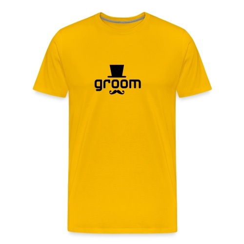 groom - Men's Premium T-Shirt