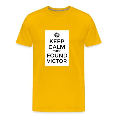 Found Victor - T-Shirt - Men's Premium T-Shirt