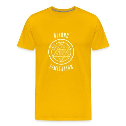 BeyondLimitation White - Men's Premium T-Shirt