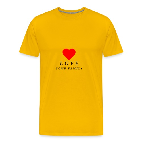 love your family - Men's Premium T-Shirt
