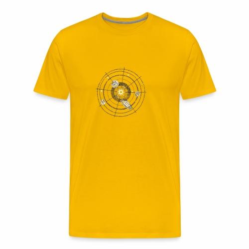 Solar System Funny - Men's Premium T-Shirt