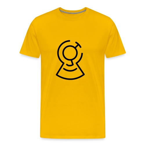 Brainimations Logo Black - Men's Premium T-Shirt