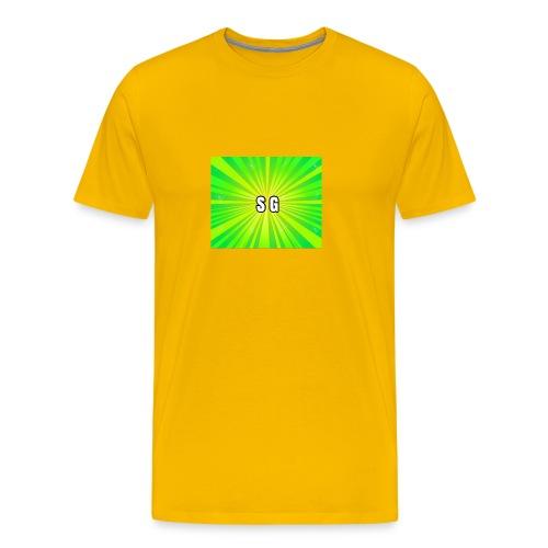 Second Gaming logo theme - Men's Premium T-Shirt