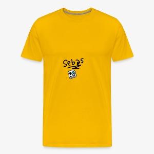 Sebas 1Draw - Men's Premium T-Shirt