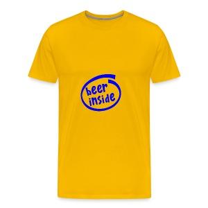 Beer Inside - Men's Premium T-Shirt
