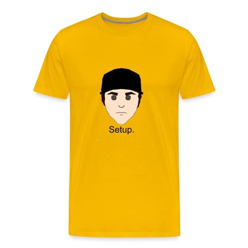 Setup Sam Squared Merch - Men's Premium T-Shirt