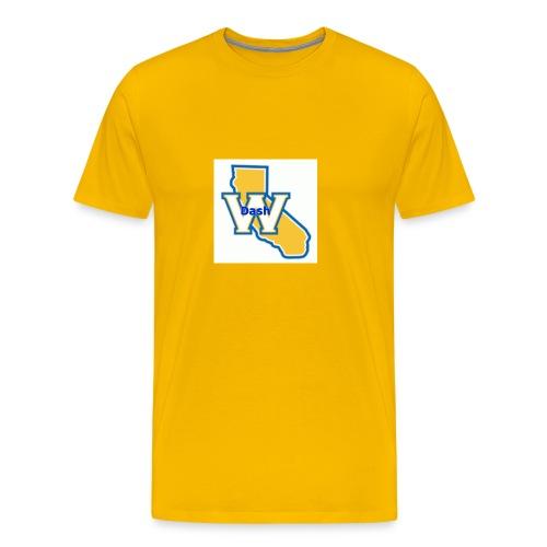 Original ChrisDash Emblem - Men's Premium T-Shirt