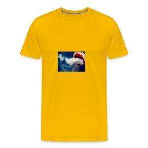 smoking woman 2 - Men's Premium T-Shirt