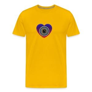 Heart Of Drums Logo - Men's Premium T-Shirt