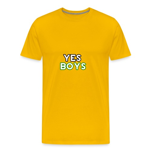 MERCHANDISE Yes Boys Campaign - Men's Premium T-Shirt