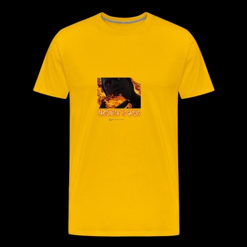 Martinoheat HD Gaming button - Men's Premium T-Shirt