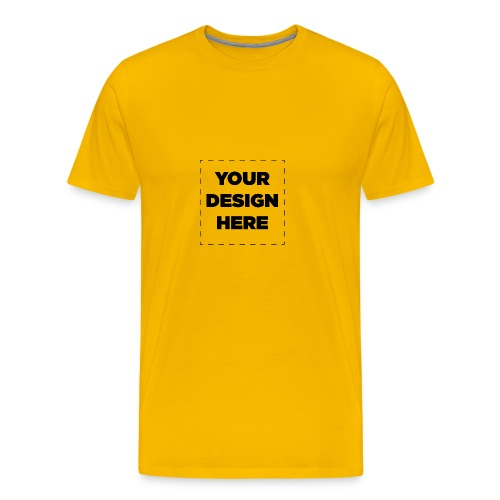 Name of design - Men's Premium T-Shirt