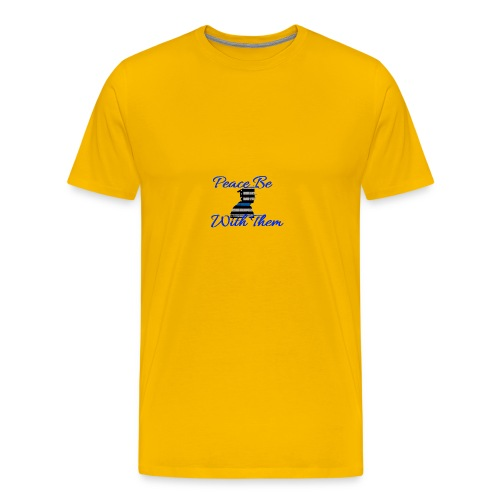 Peace Be With Them - Men's Premium T-Shirt