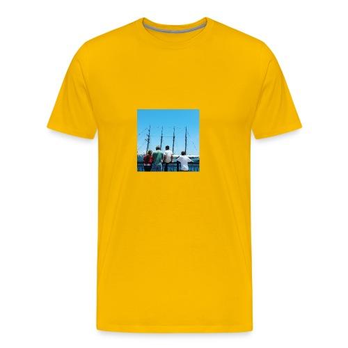 Mi Familia.and Heather - Men's Premium T-Shirt