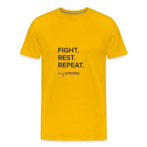 Fight Rest Repeat - Men's Premium T-Shirt