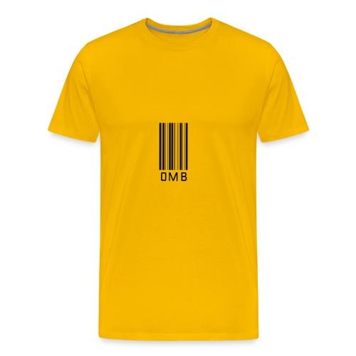 Omb-barcode - Men's Premium T-Shirt