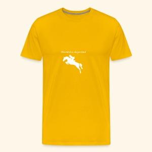 Nevertheless, she persisted (Jumper White) - Men's Premium T-Shirt
