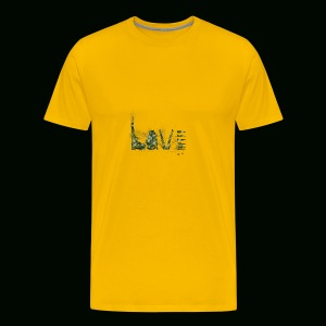 Love and War - Army - Men's Premium T-Shirt