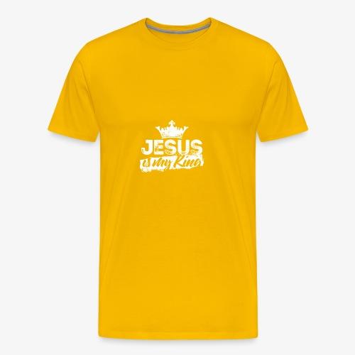 Jesus is my king religious shirt - Men's Premium T-Shirt