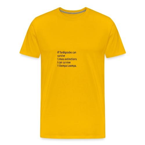 Tardigrade are tough bastards - Men's Premium T-Shirt