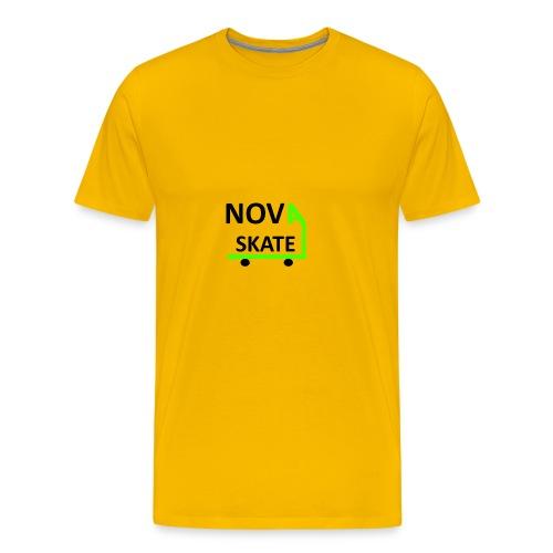 NAVA_SKATE_TSHIRT_333 - Men's Premium T-Shirt