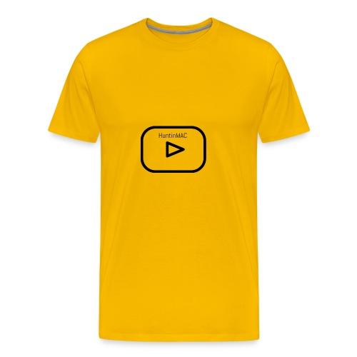 HuntinMAC logo - Men's Premium T-Shirt