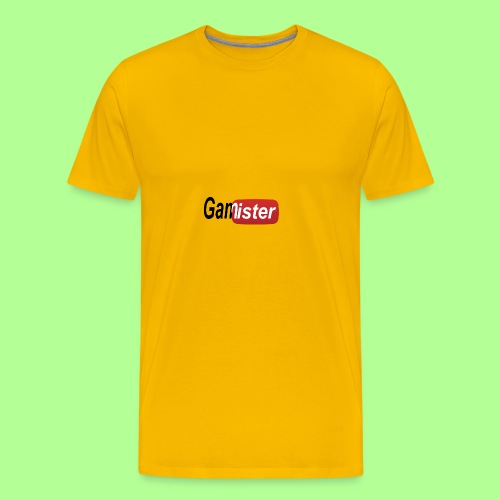 gamister_shirt_design_6 - Men's Premium T-Shirt