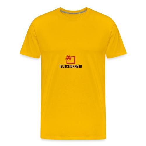 TechChick-Nerd logo #1 - Men's Premium T-Shirt