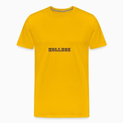 KOLLEGE - Men's Premium T-Shirt