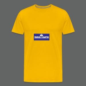issahype_blue - Men's Premium T-Shirt