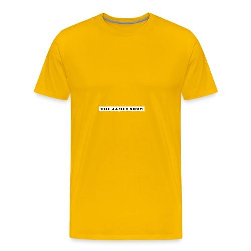 The James Show logo - Men's Premium T-Shirt