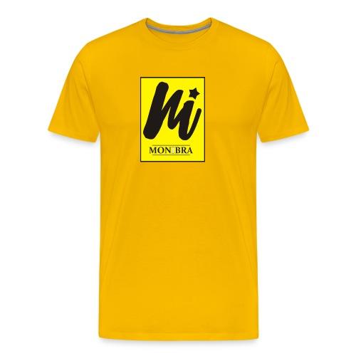 monibra logo - Men's Premium T-Shirt