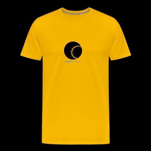 Base Ball Ia Life Logo - Men's Premium T-Shirt