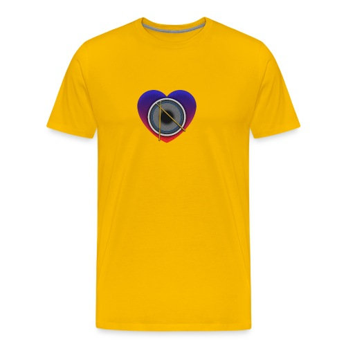 Heart Of Drums Logo - Men's Premium T-Shirt