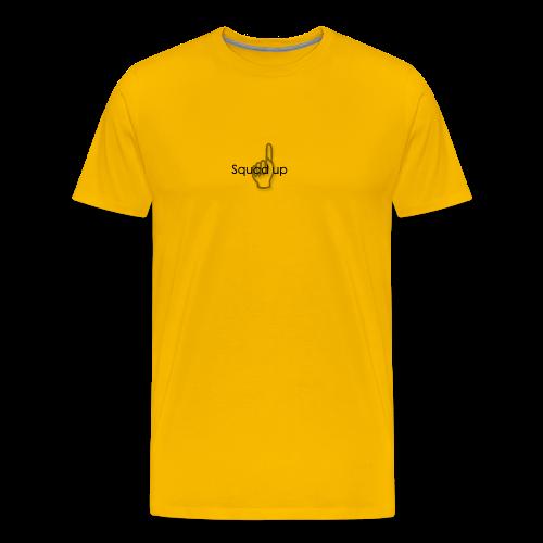 Squad up black - Men's Premium T-Shirt