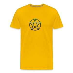 GreenPentagram - T-shirt premium pour hommes