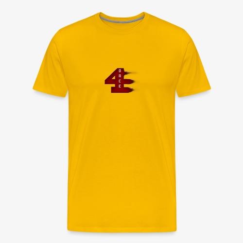 4orce (Red) - Men's Premium T-Shirt