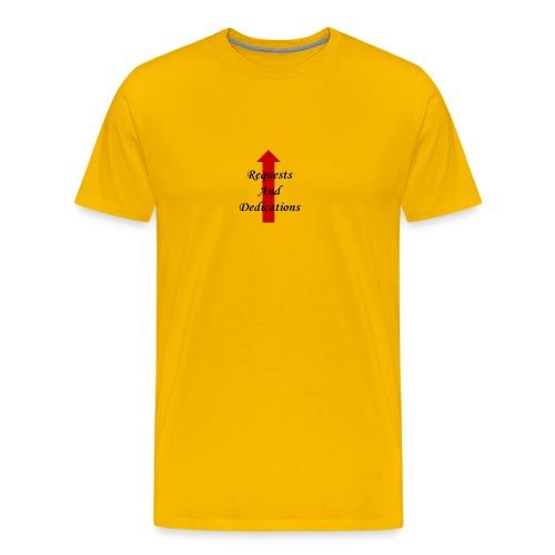 requests and dedications - Men's Premium T-Shirt