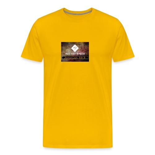 PRAISE POWER IN Prayer - Men's Premium T-Shirt