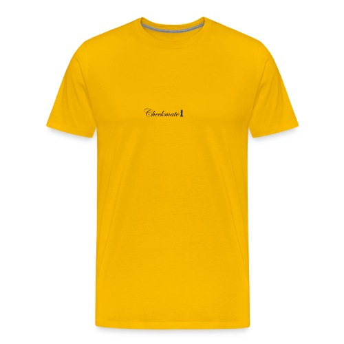 Checkmate Black - Men's Premium T-Shirt