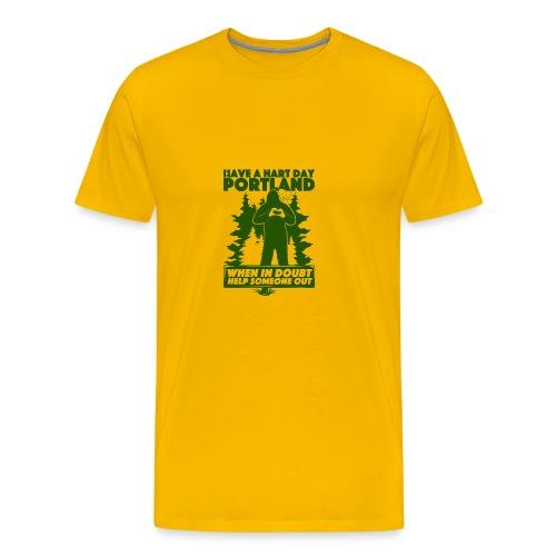 Have A Hart Day Portland - Button Pack - Men's Premium T-Shirt