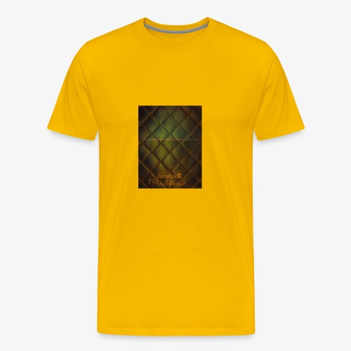 JumondR The goldprint - Men's Premium T-Shirt