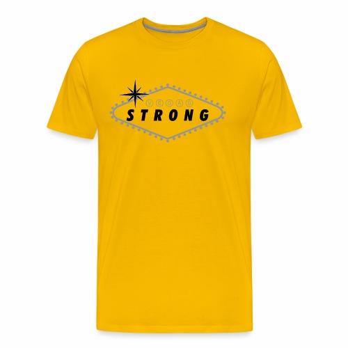 Vegas Strong Sign (grey) - Men's Premium T-Shirt