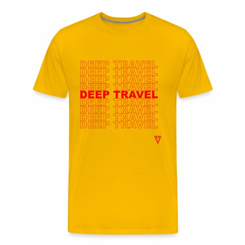 DEEP TRAVEL - Men's Premium T-Shirt