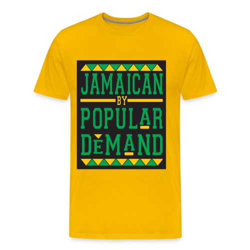 JAMAICAN BY POP DEMAND - Men's Premium T-Shirt